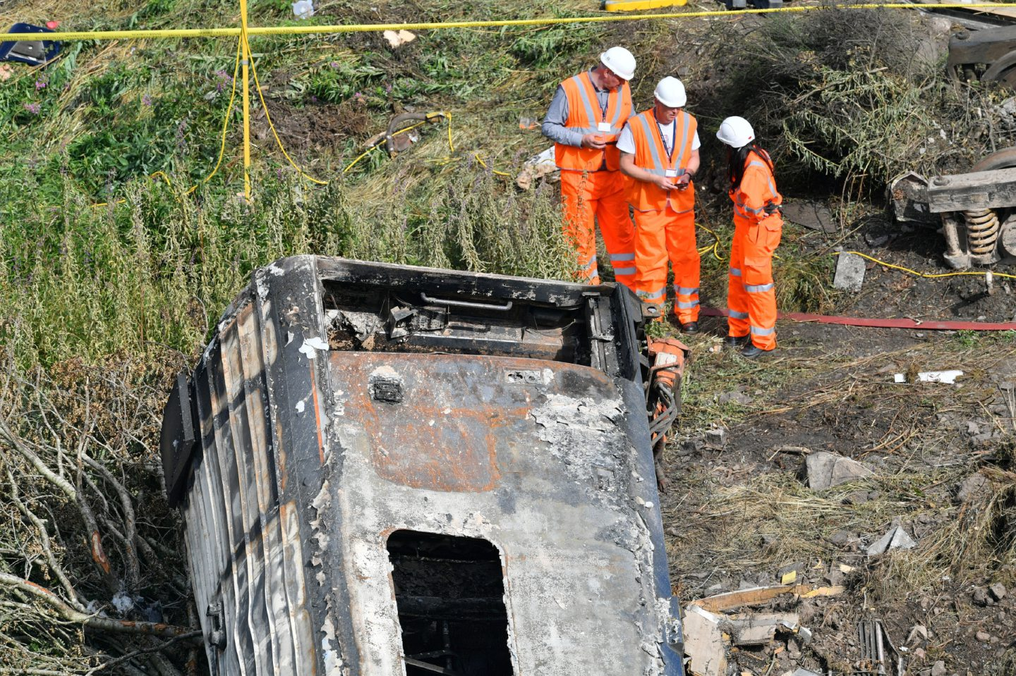 A rail safety expert has admitted the circumstances which are thought to have led to the derailment could happen again