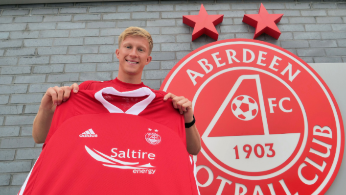 Ross McCrorie is now an Aberdeen player.