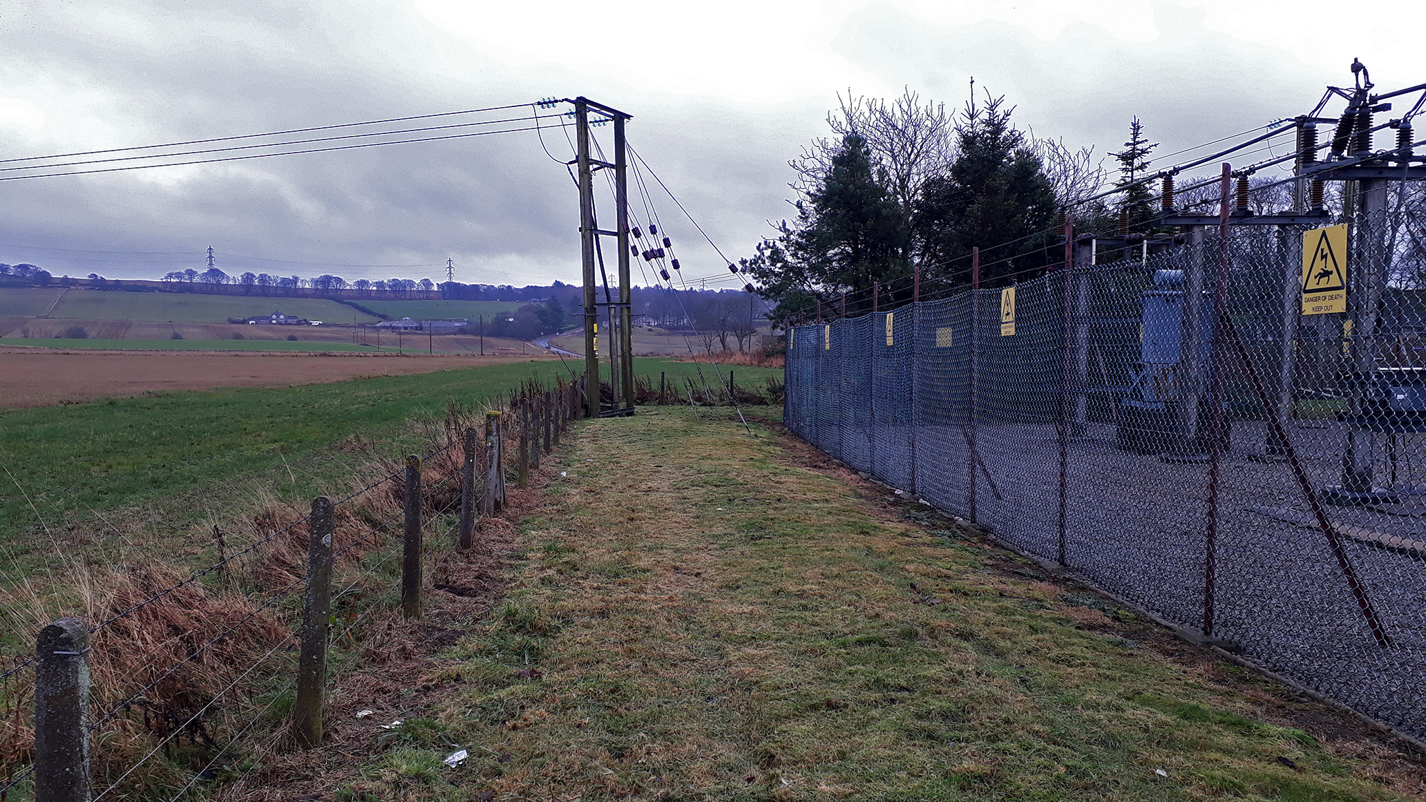 The improvement works between Dyce and Kingseat