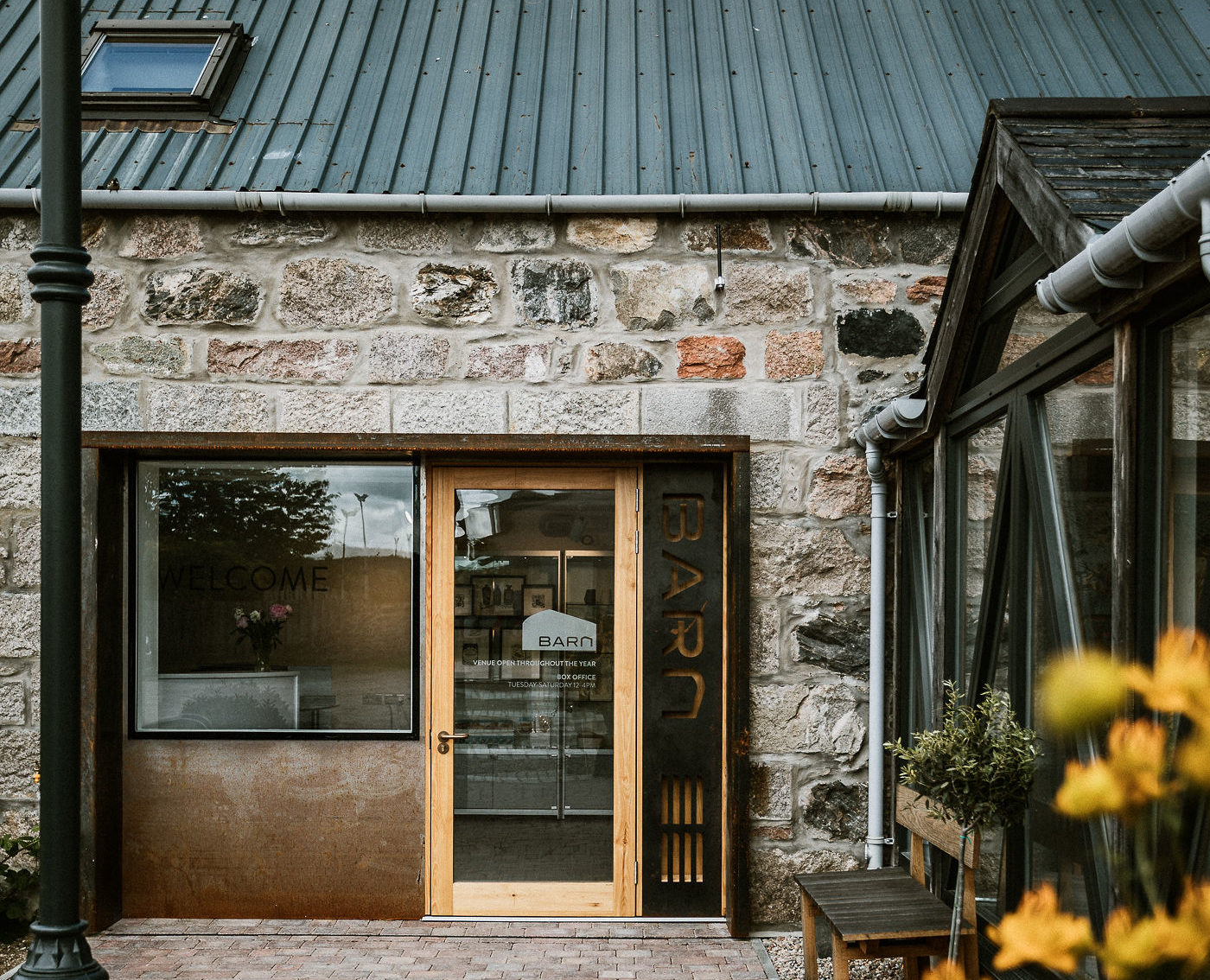 The Barn arts centre in Banchory