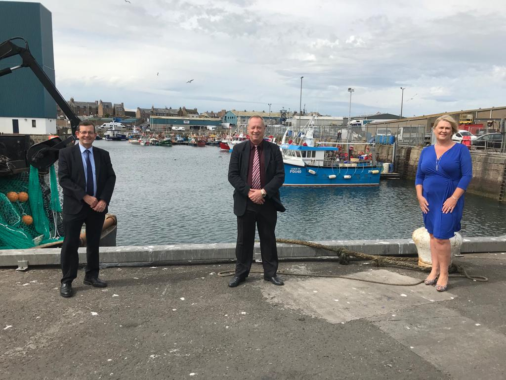 Councillors Iain Sutherland, Andy Kille and Diane Beagrie