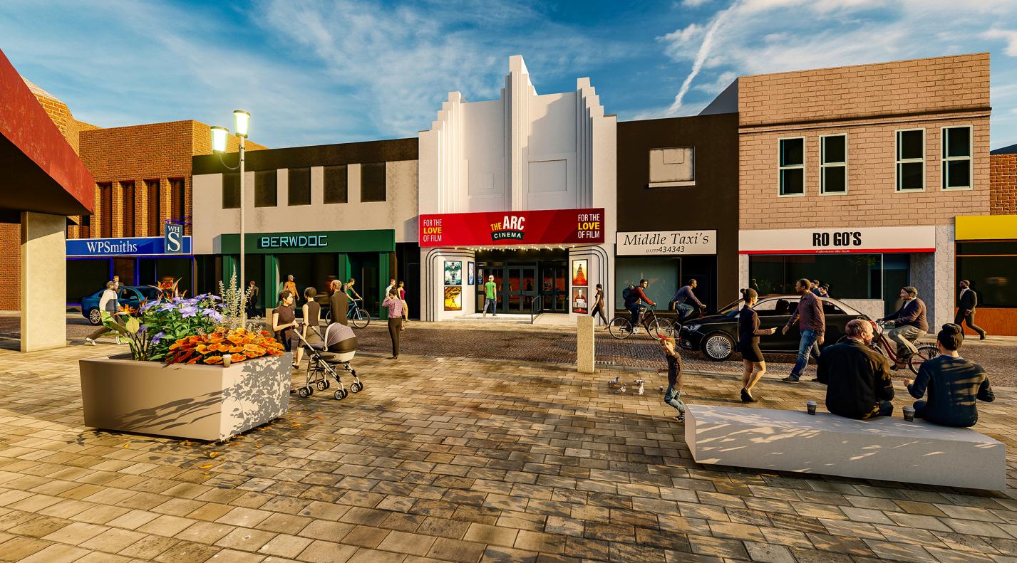 Arc电影院已经投资200万英镑,将彼得黑德的前宾果厅改造成最先进的五屏电影院