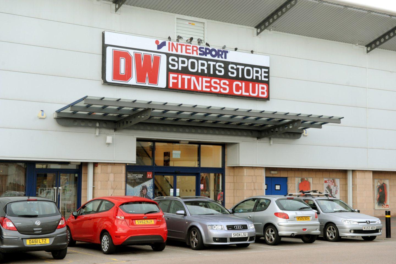The DW gym in Aberdeen