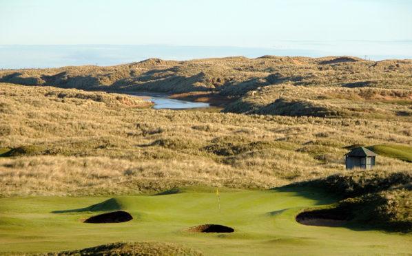 Fraserburgh Golf Club.
