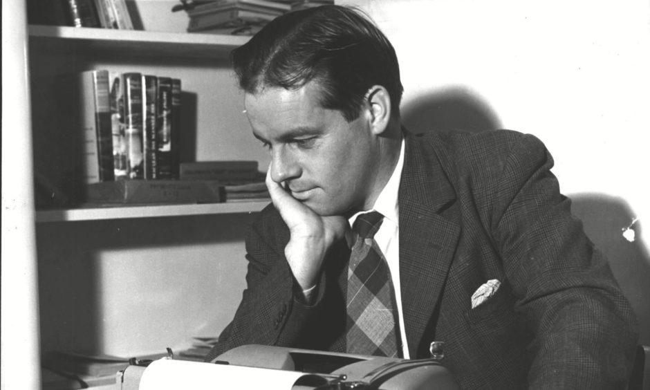 Author Alistair Maclean.