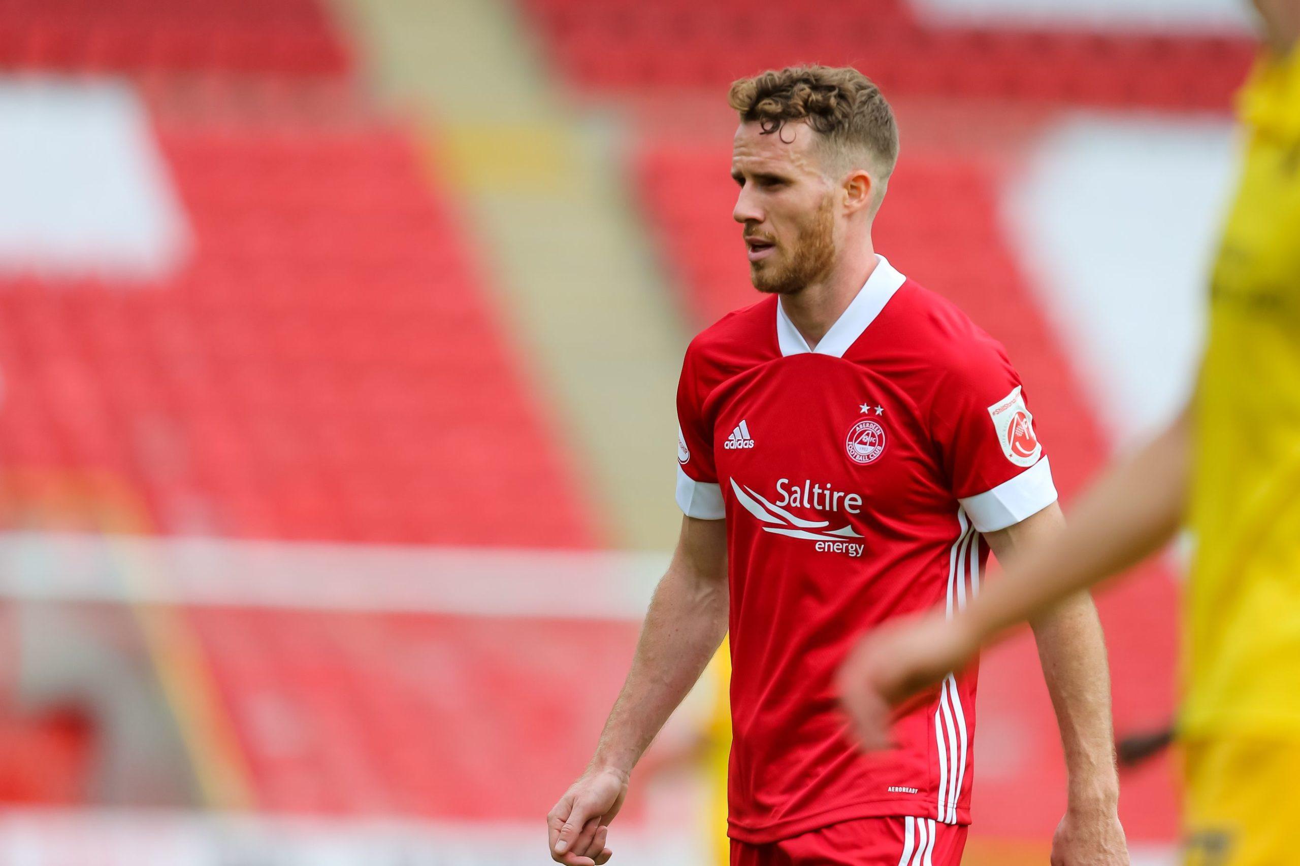 New Aberdeen signing, Bristol City loanee Marley Watkins.