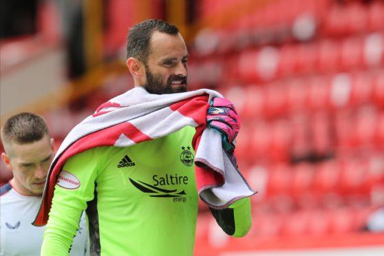 Joe Lewis at full-time.