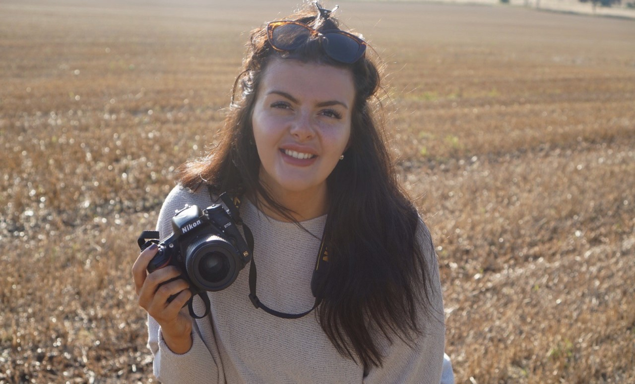 Evie Brown launched her photography business at the end of last year.