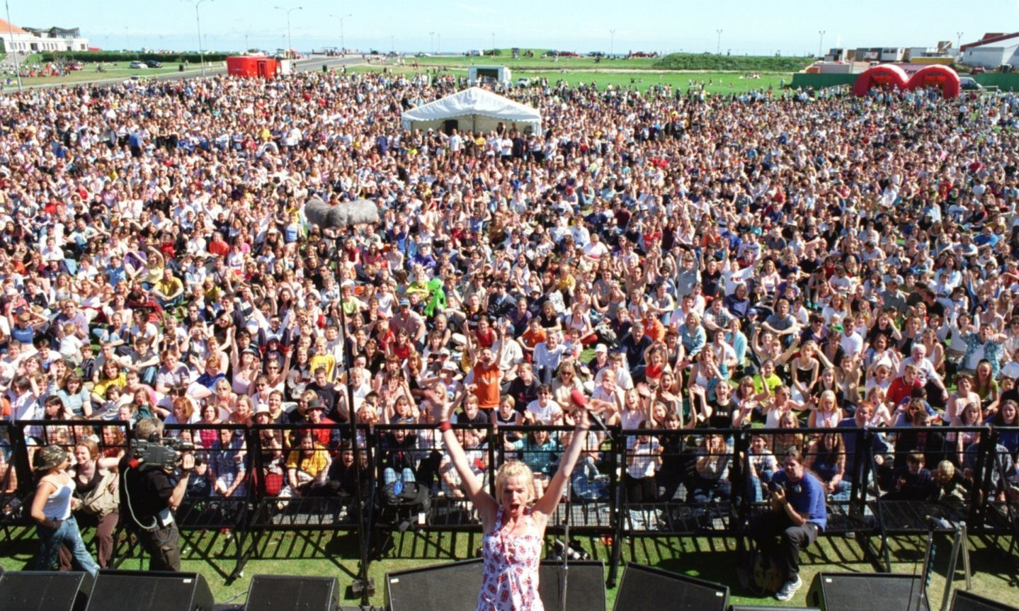 Aberdeen screamed its way across the airwaves when Radio 1's golden girl Zoe Ball kicked off the summer roadshow at the Beach in July 1999. Around 10,000 noisy punters lapped up the bubbly DJ's every word and wave.