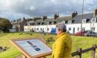 An information board on Tryggve Gran has been installed in Cruden Bay