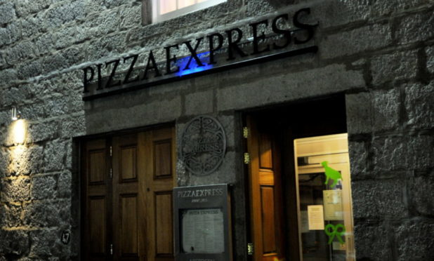 Pizza Express, Belmont Street, Aberdeen, is one of 73 across the UK to close.
