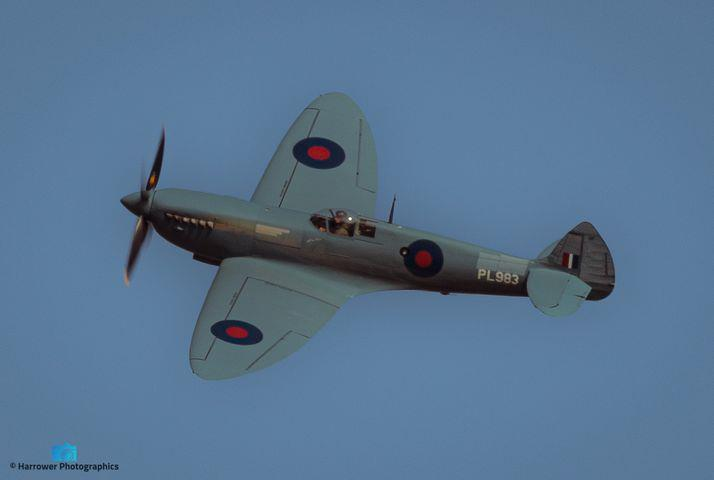 """The """"Thank You NHS"""" Spitfire"""