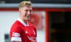 Aberdeen's goalscorer against Kilmarnock Ross McCrorie