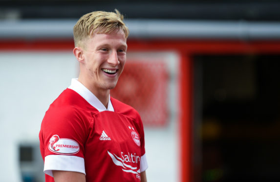 Ross McCrorie has been called up to the Scotland squad