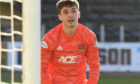 Ryan Mullen made his first appearance for Cove Rangers against Dundee