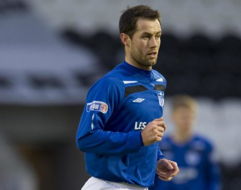 Graeme Sharp says poor form in Peterhead's relegation season in 2011 almost made him quit the game.