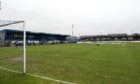Balmoor will be empty for the League One clash.