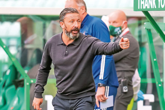 Derek McInnes says there's a deal to be made should Hoban continue to perform.