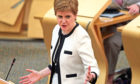 Nicola Sturgeon has been accused of lying to Holyrood.