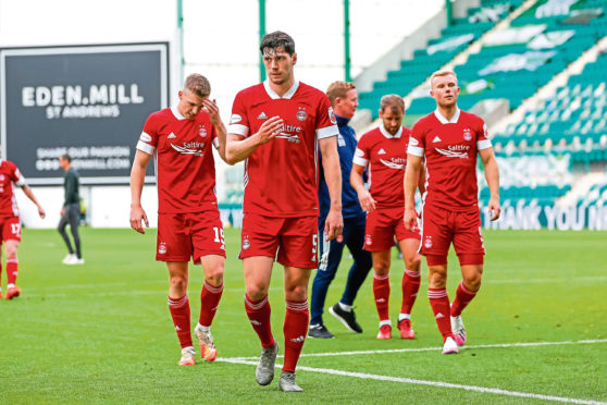Scott McKenna is on his way out of Pittodrie.
