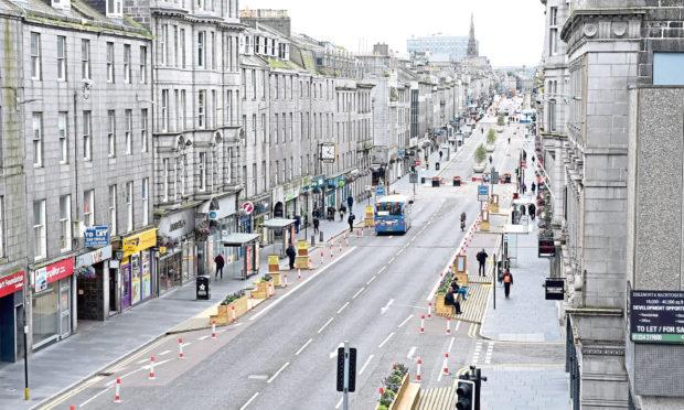 Aberdeen's Union Street