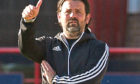 Cove Rangers manager Paul Hartley during the pre-season friendly match between Dundee and Cove Rangers at Dens Park.