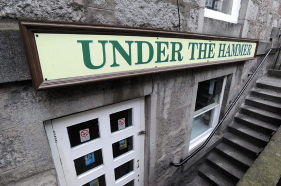 Under the Hammer, on North Silver Street. Picture by Chris Sumner
