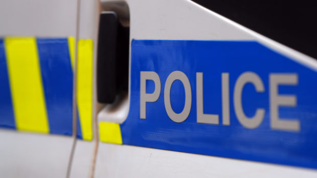The incident happened on Wingate Place, Aberdeen.
