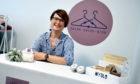 Amanda Fullerton, owner of clothes swap shop Swish Swish Bish.