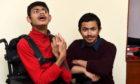Shahzad Ahmad with brother Waleed