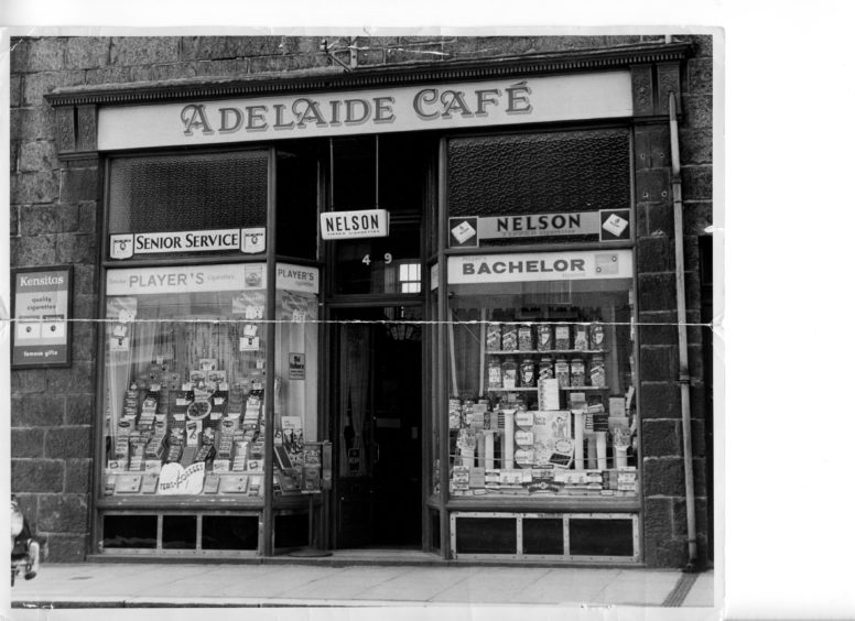 Adelaide Cafe, 489 George Street - 1970