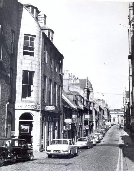 Belmont Street - 1975