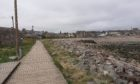 The boardwalk at Stonehaven
