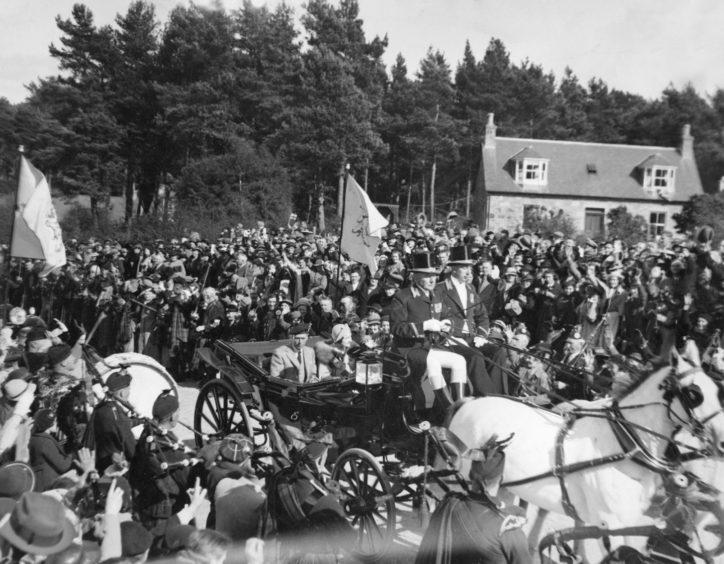 Braemar Gathering 1937.