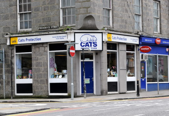 The Cats Protection charity shop on King Street will not reopen