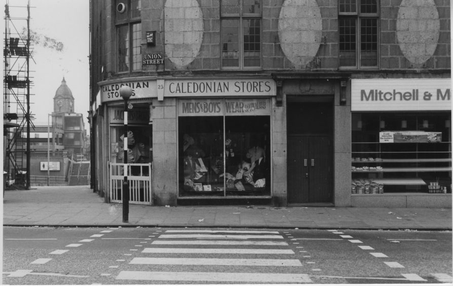 Caledonian Stores, Union Street - 1973
