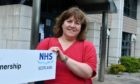 Fiona Browning, one of NHS Grampian's health protection nurse specialists, has been part of the team working in Test and Protect