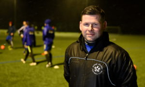 Rothie Rovers manager Kevin Beaton