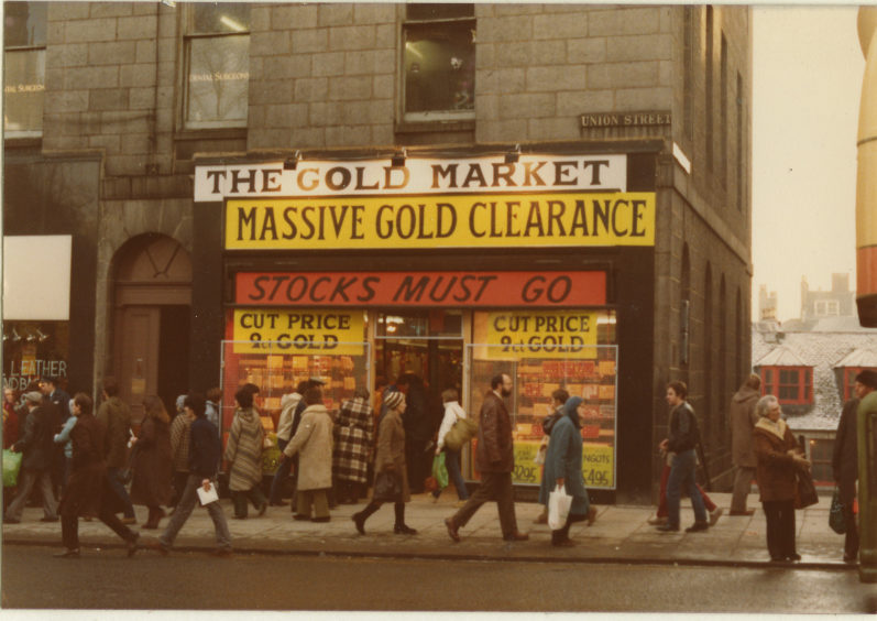 Gold Market, Union Street - 1981