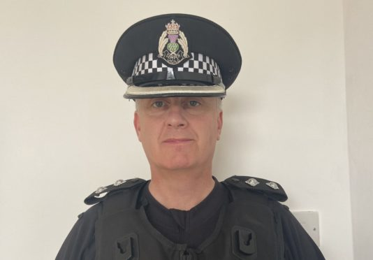 Inspector Graeme Smith of Mastrick CPT