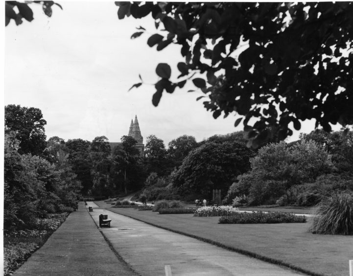 1987: Seaton Park, Bridge of Don, Aberdeen.