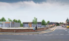 The proposals for Inverurie health centre