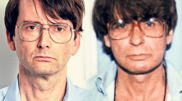 A comparison of David Tennant in Des and the real Dennis Nilson
