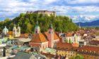 Slovenian capital Ljubljana