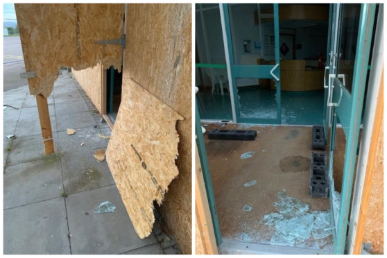 Northfield swimming pool was damaged by intruders