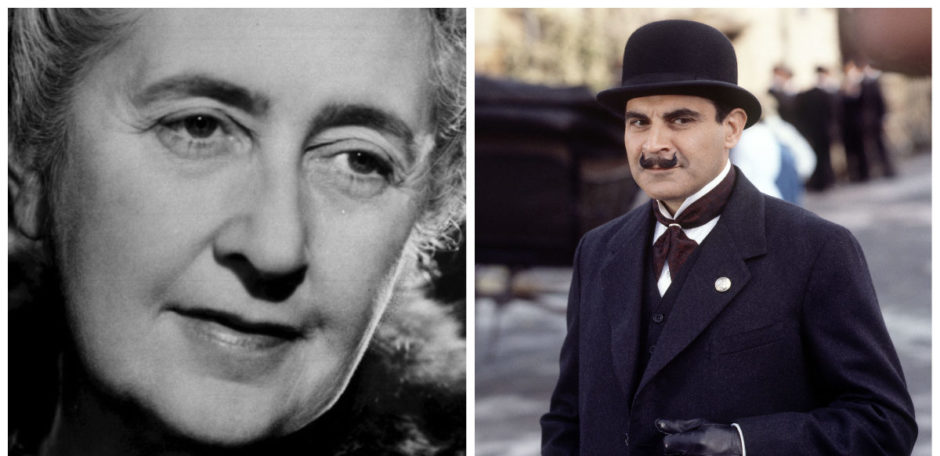 Agatha Christie invented one of the most famous characters in literature, Hercule Poirot.