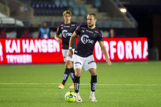Veton Berisha in action for Viking FK