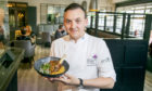 Graham Mitchell, the head chef of The Scullery at the Newmachar Hotel.