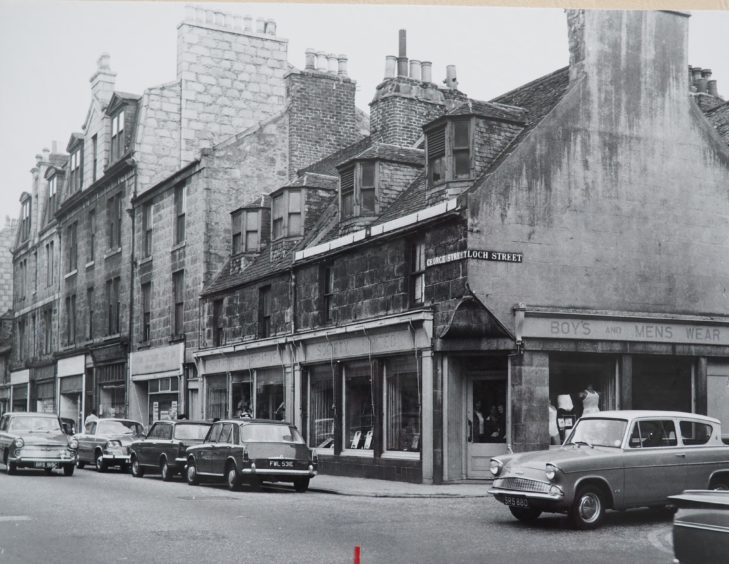 Norco shop at the corner of George Street and Loch Street - 1967
