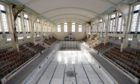 Bon Accord Baths Open Day. Save Bon Accord Baths volunteers.  12/09/20 Picture by KATH FLANNERY